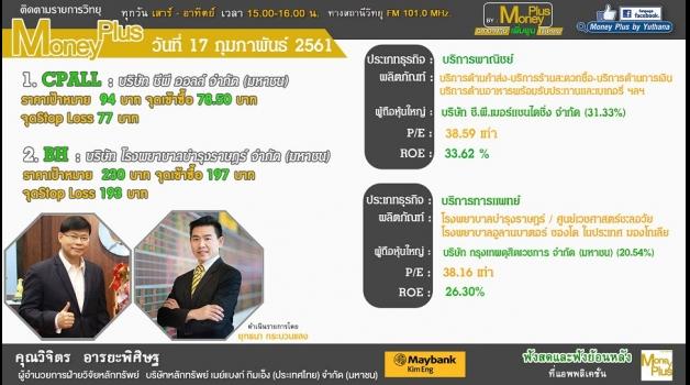 หุ้นเด่น คุณวิจิตร  อารยะพิศิษฐ  ผู้อำนวยการฝ่ายวิจัยหลักทรัพย์  บล. เมย์แบงก์ กิมเอ็ง (ประเทศไทย)