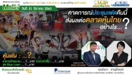 คาดการณ์ประชุมเฟดคืนนี้ ส่งผลต่อตลาดหุ้นไทยอย่างไร