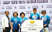 ผู้บริหารศุภาลัย มอบเงินสมทบทุน ให้กับมูลนิธิช่วยคนตาบอดแห่งประเทศไทย                      ในพระบรมราชินูปถัมภ์